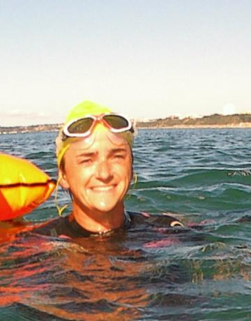 Ellen Open Water Swimming Coach