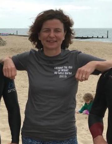 Lisa Open Water Swimming Coach