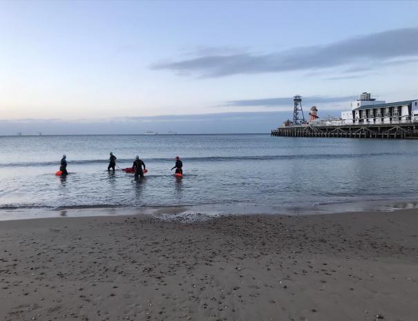 bournemouth sea swim