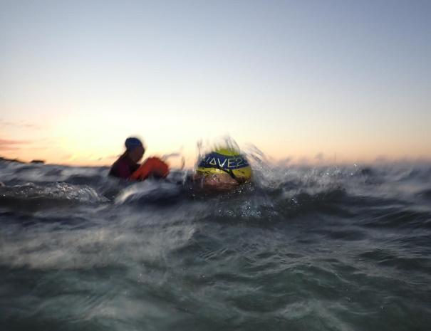 wave 23 sea swimming hat