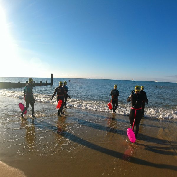 introduction to sea swimming Dournemouth